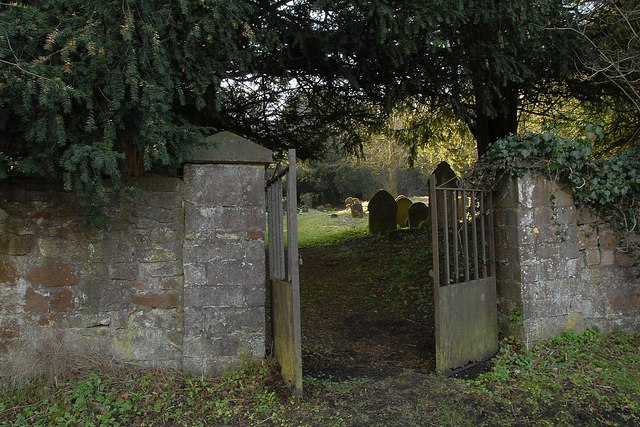 Entrance to Old Halkyn Cemetery