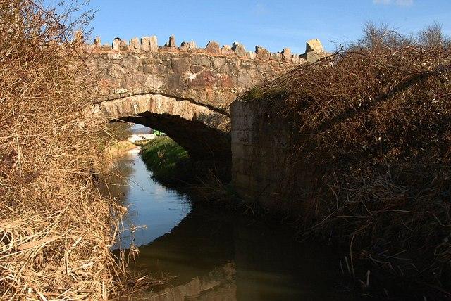 Stream under the bridge