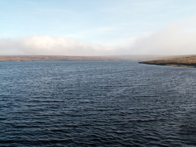 Chew Reservoir from the dam head.