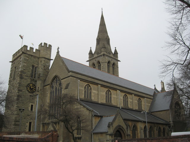 st andrew�s church rugby 169 richard rogerson geograph