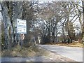 NJ5606 : A980 to Alford by Stanley Howe