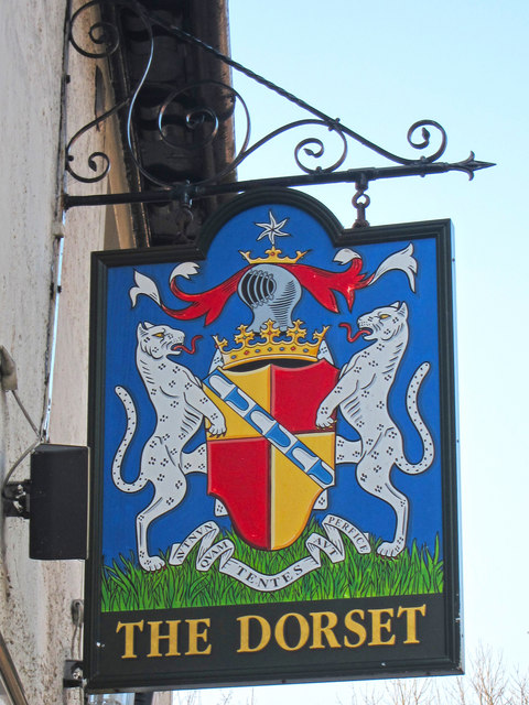 The Dorset sign