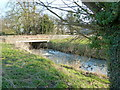 ST6898 : Road bridge over the Little Avon River, Ham, Berkeley by Ruth Sharville
