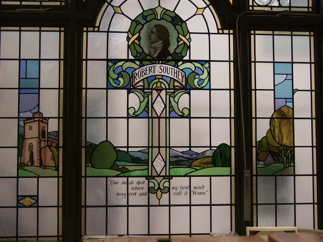Stained glass in the Co-op
