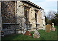 TL3344 : St Peter & St Paul, Bassingbourn - Gravestones by John Salmon