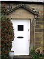 NZ1266 : Doorway, 'Merci Beaucoup' Cottage, Houghton by Andrew Curtis