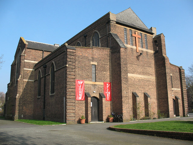 West front of St John's church