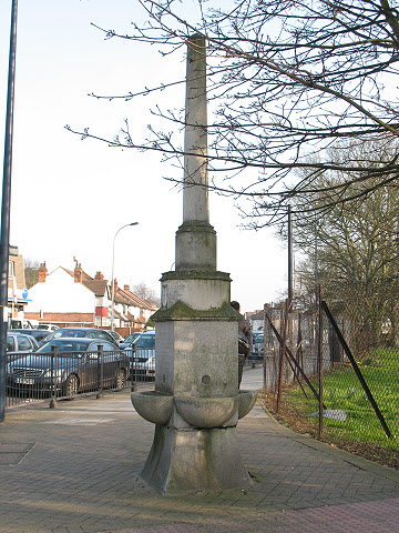 Drinking fountain on the corner of Bellingham Hill Road