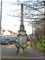 TQ3871 : Drinking fountain on the corner of Bellingham Hill Road by Stephen Craven
