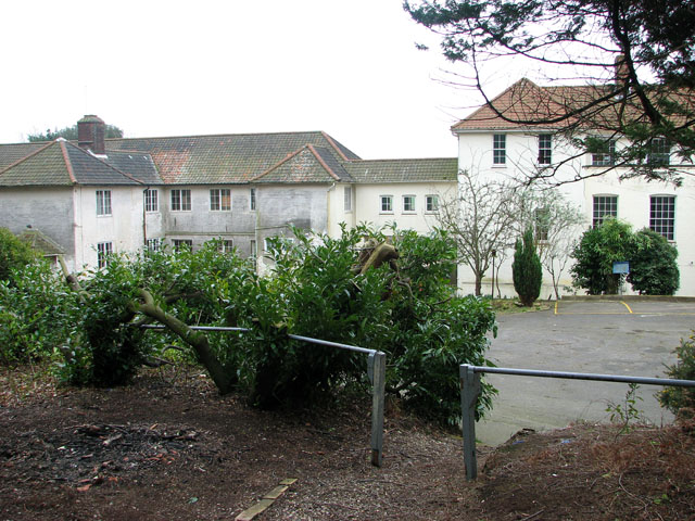The old tuberculosis hospital in Mundesley
