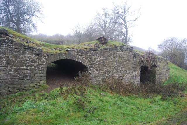 Lime kilns by the Shropshire Way