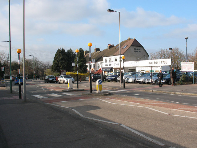Zebra crossing on Sutton Common Road