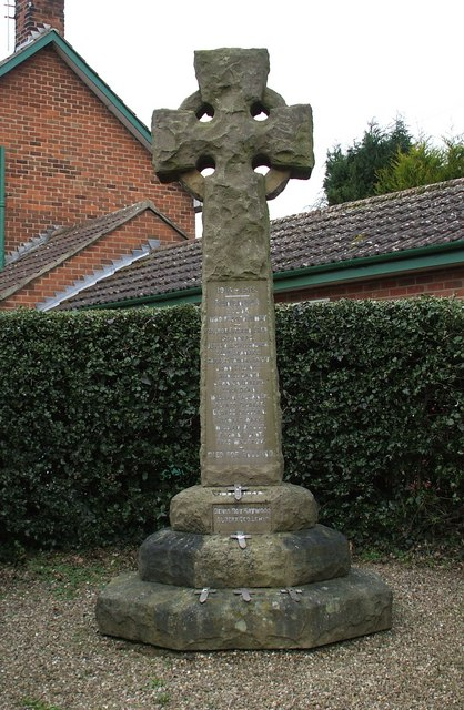 Elvaston War Memorial, Derbyshire