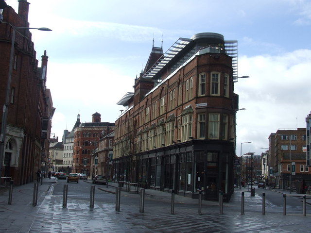 Exchange Building Leicester 169 Malc Mcdonald Geograph