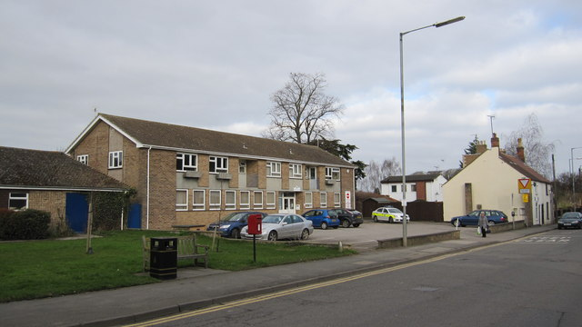Bourne Police station in context