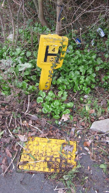 Hydrant and Hydrant sign
