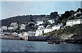 SX2150 : Breakwater arms at Polperro 1969 by Gordon Spicer