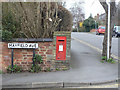SP2055 : Maidenhead Road postbox ref.CV37 28 by Alan Murray-Rust