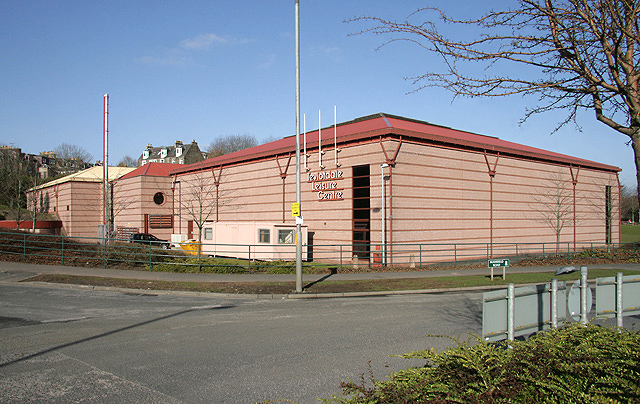 The Teviotdale Leisure Centre Hawick Walter Baxter Geograph Britain And Ireland