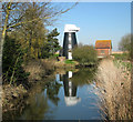 TG4001 : Norton Marshes Mill, Reedham by Evelyn Simak
