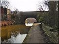 SJ7698 : Bridge Over The Bridgewater Canal by David Dixon