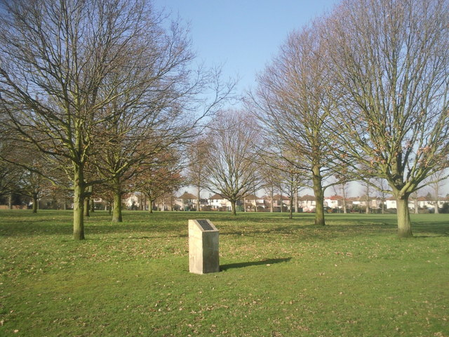 Memorial trees in Danson Park