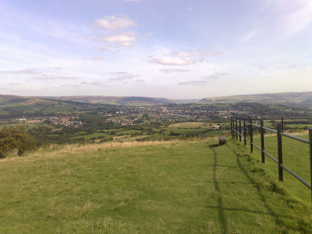 Hattersley from Werneth Low