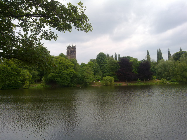 Lake in Lymm