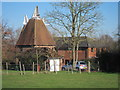 TQ6444 : Brook Farm Oast, Sychem Lane, Five Oak Green, Kent by Oast House Archive