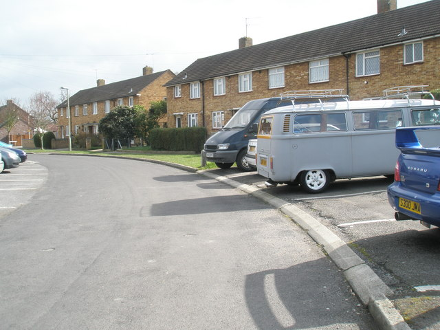 Splendid VW camper van in Ibsley Grove