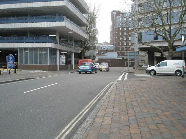 Alec Rose Lane Car Park Portsmouth