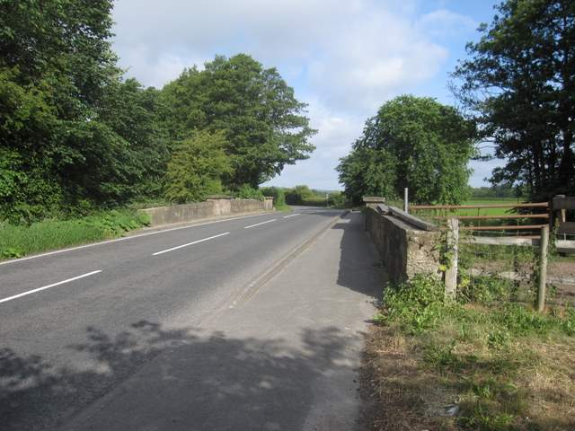 Leeswood Bridge and the A541