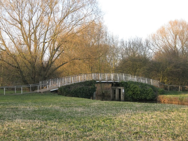 Footbridge near the Marina