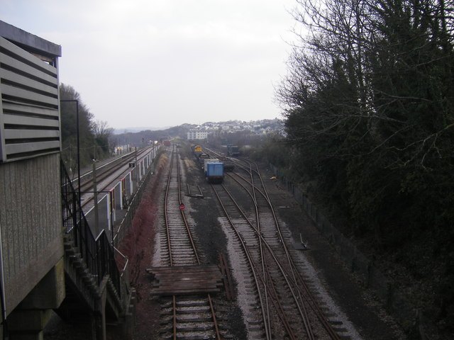 Goodrington Sidings and station