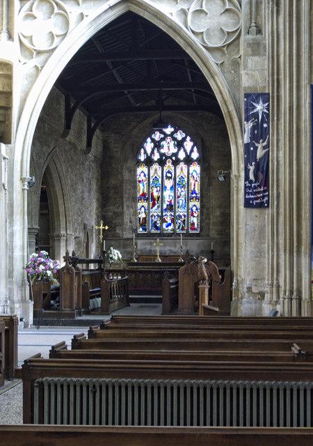 the chancel  st  mary u0026 39 s church  chipping     u00a9 cameraman cc