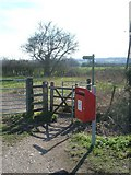 SP9623 : Public Footpath by Mr Biz