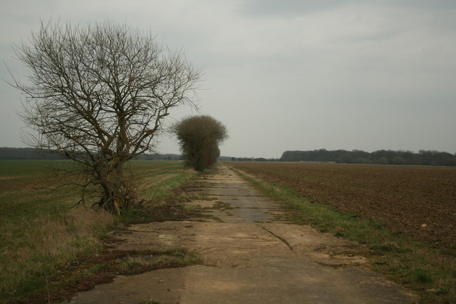 RAF Desborough Main Runway