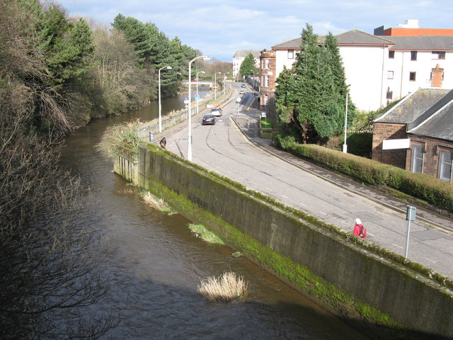 Water of Leith at warriston Road