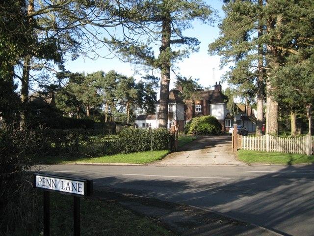 Corner of Penn Lane and B4101 Broad Lane