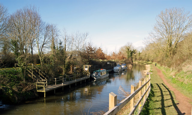 Bridgwater and Taunton Canal near Lower Maunsel Lock
