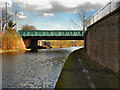 SJ7797 : Bridgewater Canal,  Ashburton Road Bridge by David Dixon