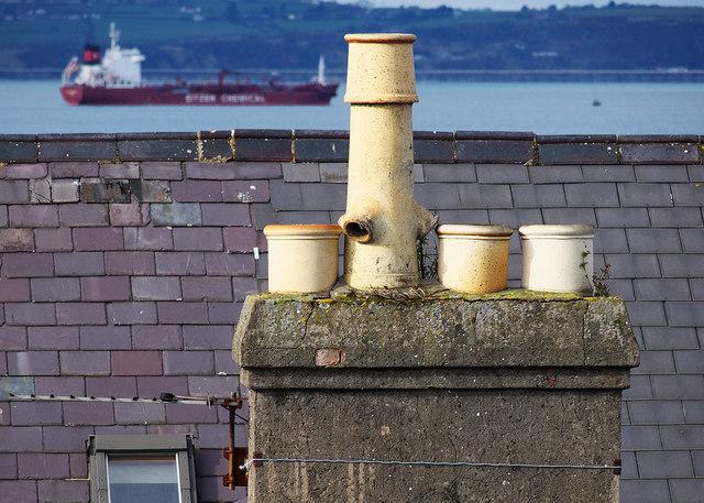 Chimney pots, Bangor