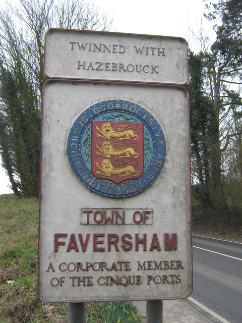Faversham Town Sign
