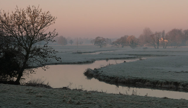 The River Waveney near Homersfield