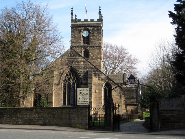 Church Of St Helen Barnsley Road 169 Mike Kirby Cc By