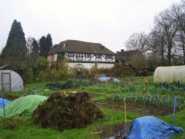 The Priory and allotments, Kings Langley