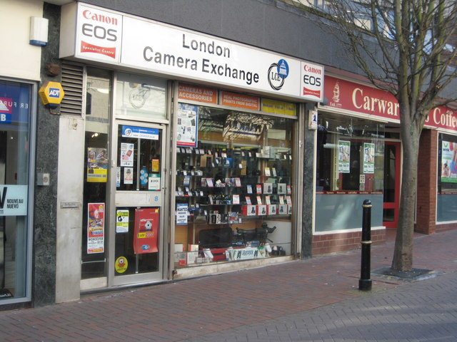 London Camera Exchange, Worcester © Philip Halling cc-by-sa/2.0 ...