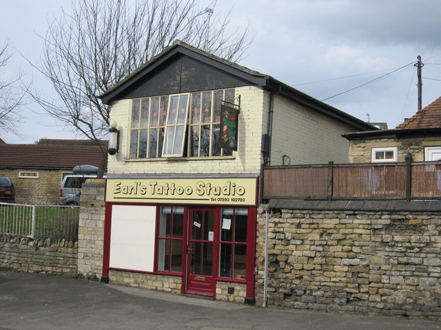 double industrial building, Radcliffe Road, Stamford
