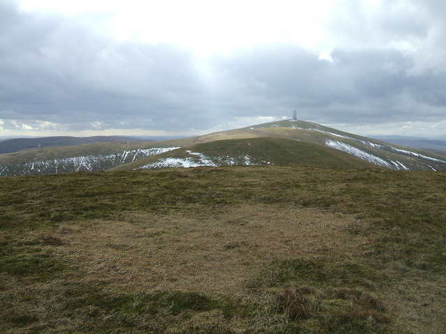 Summit of Dun Law