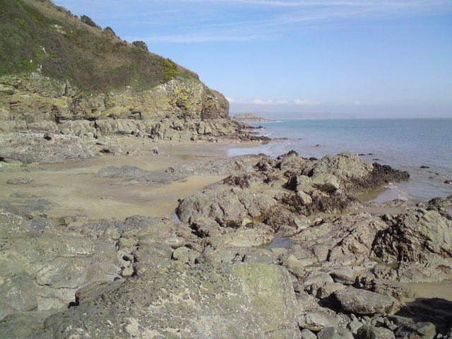 Beach near Tenby